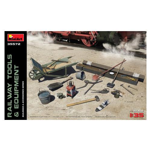 Набор MiniArt Железнодорожные инструменты и оборудование (MA35572)