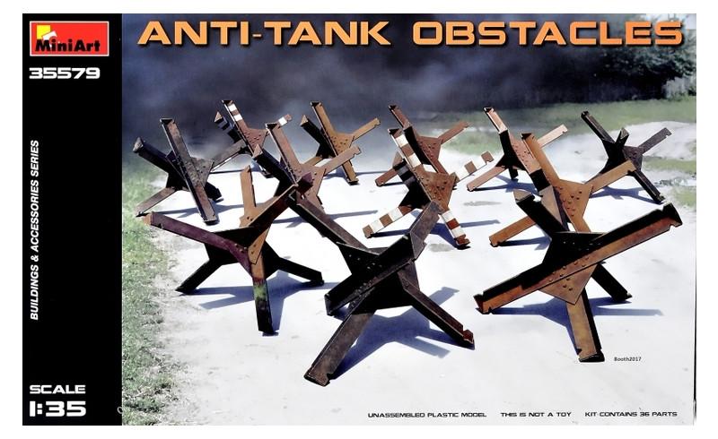 Набор MiniArt Противотанковые препятствия (MA35579)