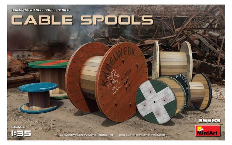 Модель MiniArt Cable Spools (MA35583)