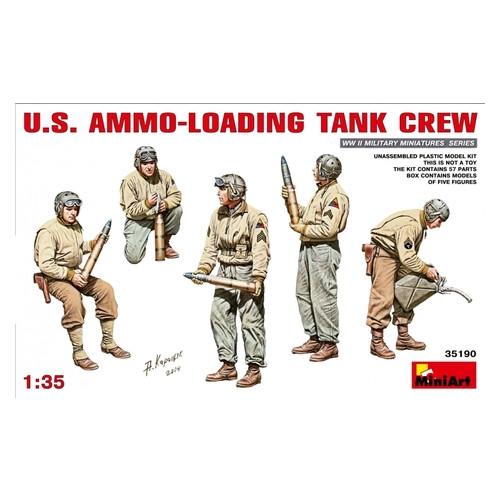 Набор фигурок Miniart Загрузка боеприпасов танковым экипажем США (MA35190)