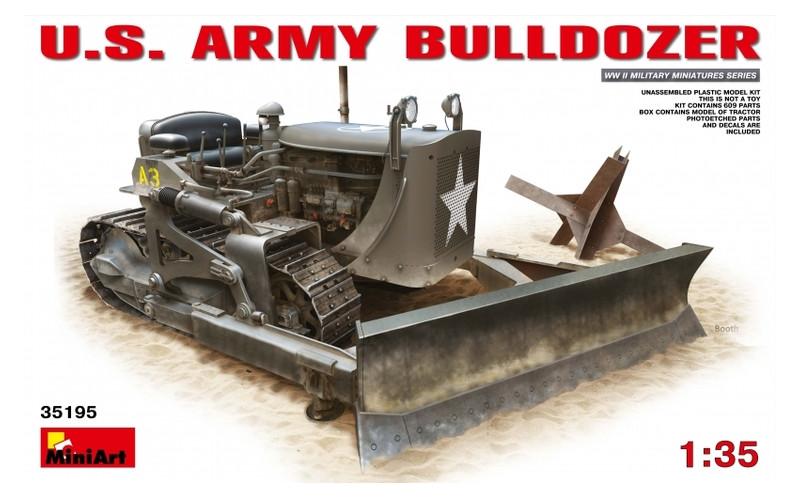 Модель Miniart Американский армейский бульдозер (MA35195)