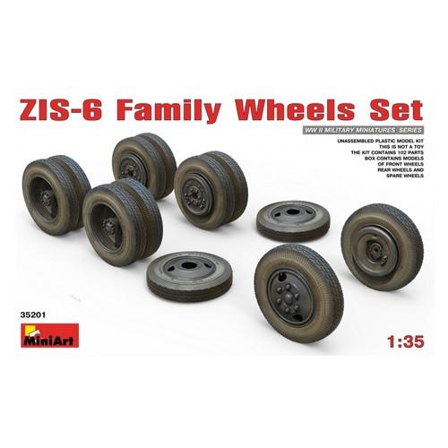 Набор MiniArt Набор колес для ЗиС-6 (MA35201)