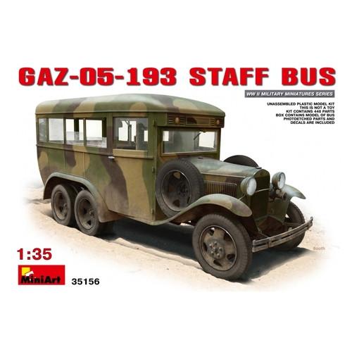 Модель Miniart Штабной автобус ГАЗ-05-193 (MA35156)