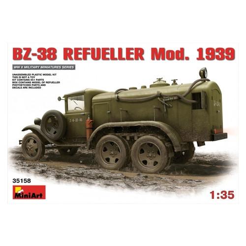 Модель Miniart Заправщик БЗ-38 образца 1939 г. (MA35158)