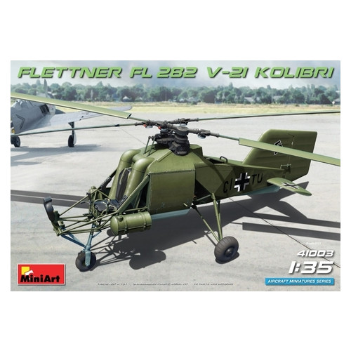 "Модель Miniart Вертолет Flettner FL 282 V-21 ""Kolibri"" (MA41003)"