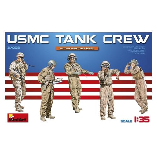Набор фигурок Miniart Американский экипаж танка (MA37008)