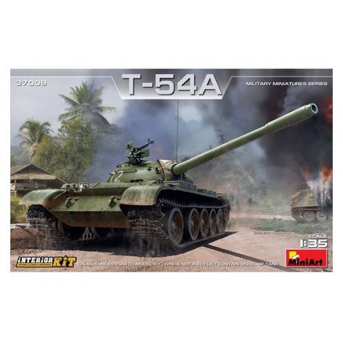Модель Miniart Танк Т-54А с полным интерьером (MA37009)