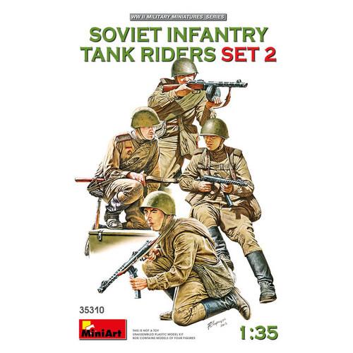 Модель Miniart Солдаты на танк (MA35310)