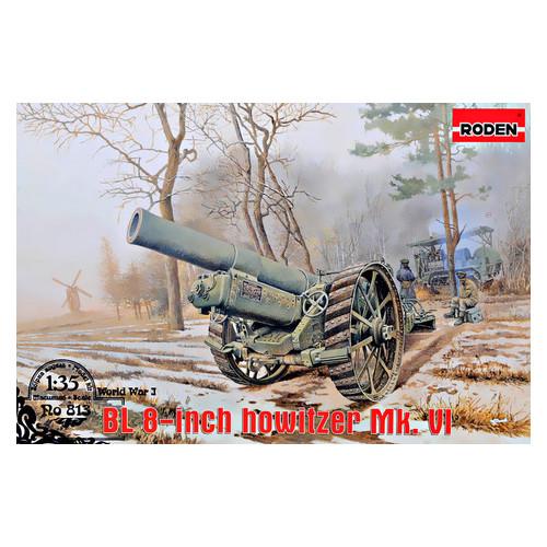 Модель Roden Гаубица BL 8-inch Howitzer Mk.VI (RN813)
