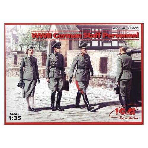 Набор фигурок ICM Германский штабной персонал II МВ (ICM35611)