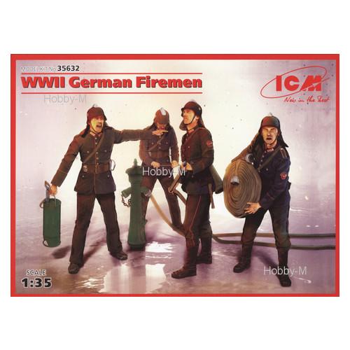 Набор фигурок ICM Немецкие пожарные Второй Мировой Войны (ICM35632)