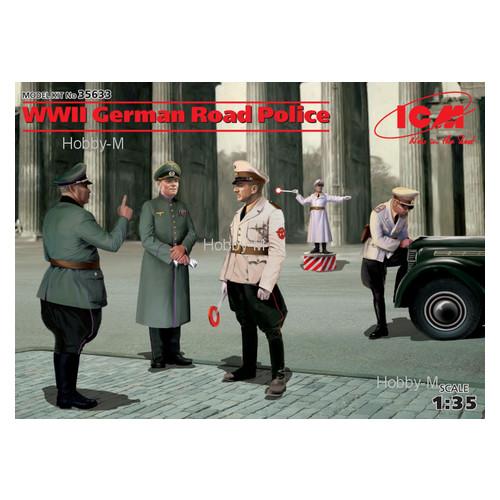 Набор фигурок ICM Немецкая дорожная полиция (ICM35633)
