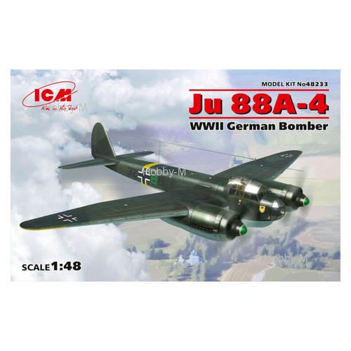 Модель ICM Немецкий бомбардировщик Ju 88A-4 (ICM48233)