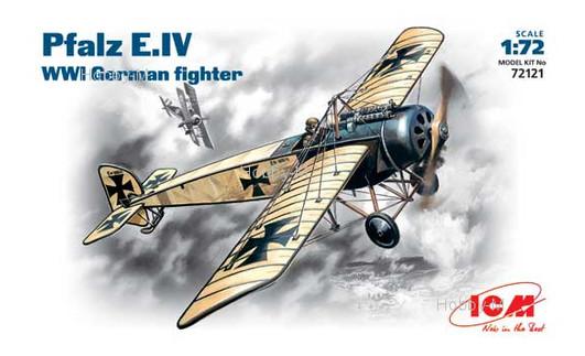 Модель ICM Немецкий истребитель Pfalz E-IV (ICM72121)