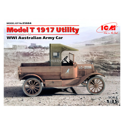 Модель ICM Армейский автомобиль Австралии, Модель T 1917, І МВ (ICM35664)