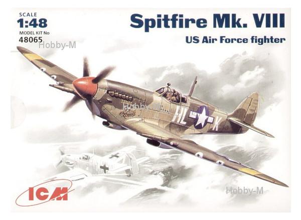 Модель ICM Истребитель Spitfire Mk.VIII (ICM48065)
