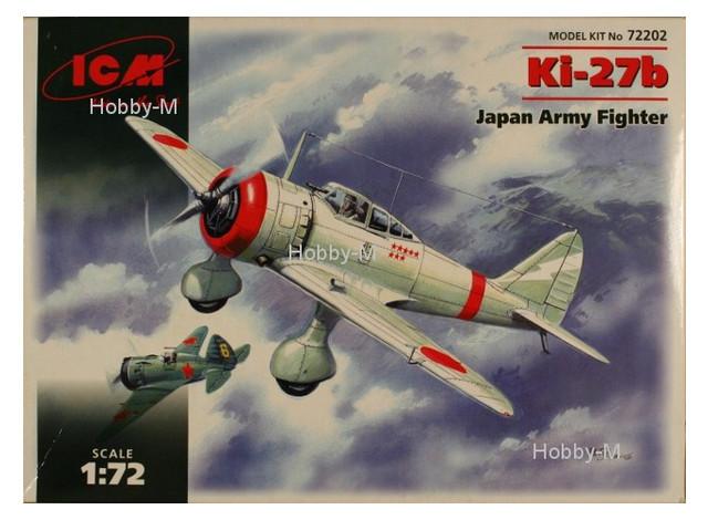 Модель ICM Японский истребитель Kи-27б (ICM72202)