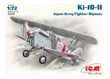 Модель ICM Японский истребитель-биплан Ki-10-II (ICM72311)