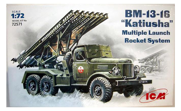 Модель ICM Советская боевая машина BM-13-16 Катюша (ICM72571)