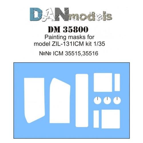 Маска DAN models для модели автомобиля ЗиЛ-131 ICM (DAN35800)