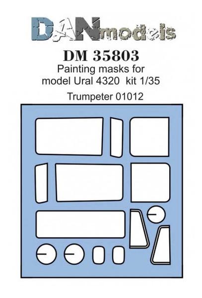 Маска DAN для модели машины Урал 4320 (DAN35803)