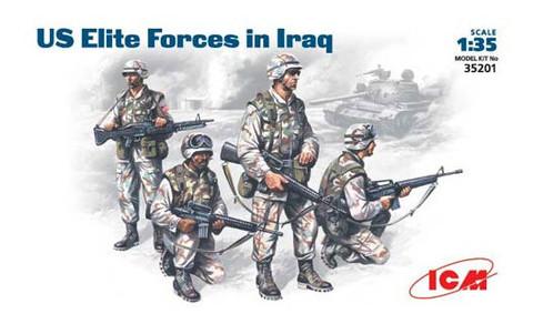 Модель ICM Элитные войска США в Ираке (ICM35201)
