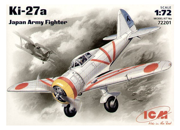 Модель ICM Японский истребитель Ki-27а (ICM72201)