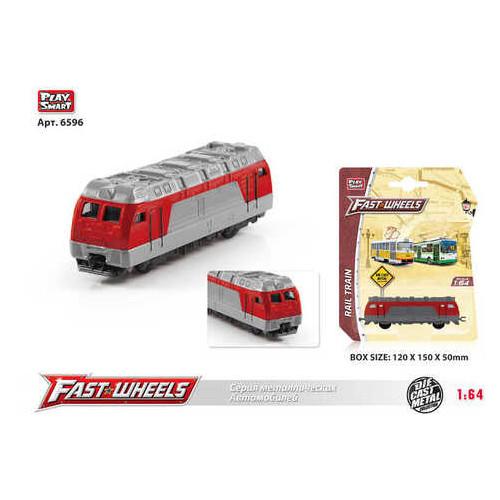 Поезд Play Smart металлопластик (6596)
