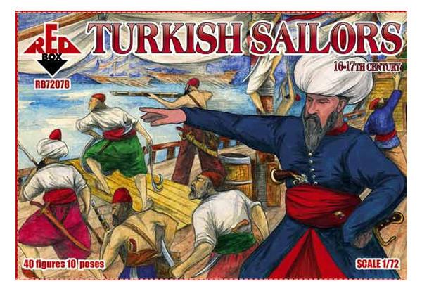 Модель Red Box Турецкие моряки 16-17 века (RB72078)
