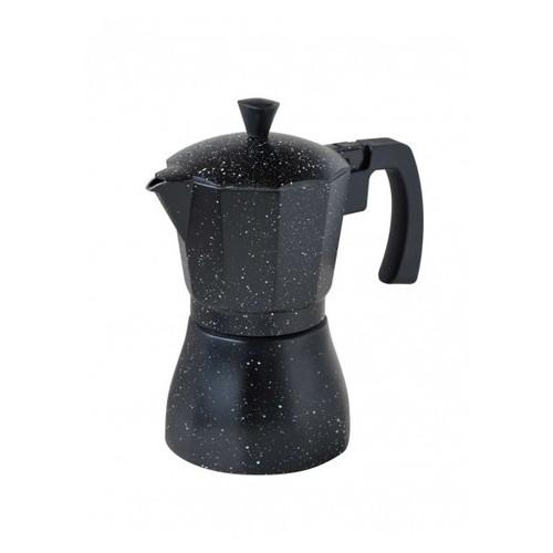 Гейзерная кофеварка для индукционной плиты Con Brio 9ч (CB-6809)