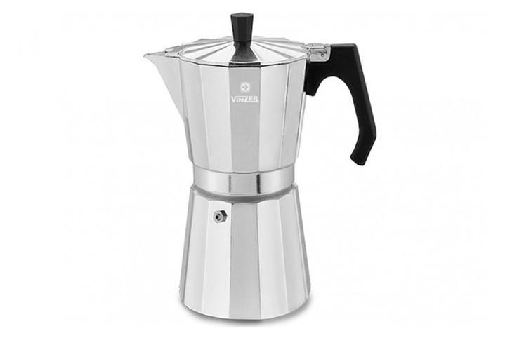 Гейзерная кофеварка Moka Espresso на 9 чашек VINZER VZ-89384