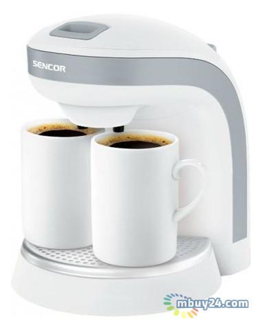 Кофеварка Sencor SCE 2001 White