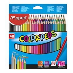 Карандаши цветные Maped Color'Peps Classic 48 цветов (MP.832048)
