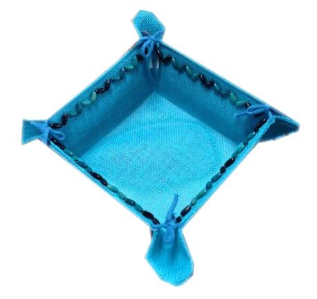 Корзина Arya 18Х18х9 однотонный голубой (3000000056677)