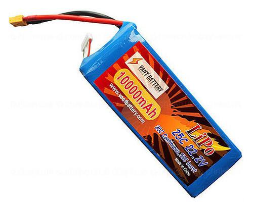 Аккумулятор для DJI Vant10000-25-6S 10000mAh 25C 22.2V