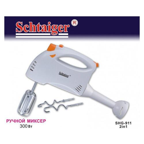 Блендер + миксер Schtaiger SHG - 911 2in1, Белый