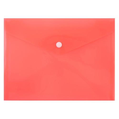 Папка-конверт на кнопке Yes А5 24х18 см Bright (491720)