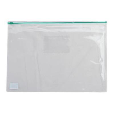 Папка на молнии Buromax А5 plastic zipper Green (BM.3947-04)