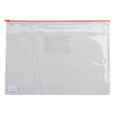 Папка на молнии Buromax А5 plastic zipper Red (BM.3947-05)