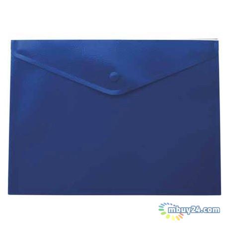 Папка на кнопке Buromax А4 Jobmax, синий BM.3925-02