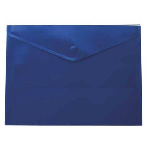 Папка на кнопке Buromax А5 Jobmax, синяя BM.3936-02