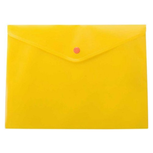 Папка на кнопке Buromax А5 Jobmax, оранжевый BM.3936-11