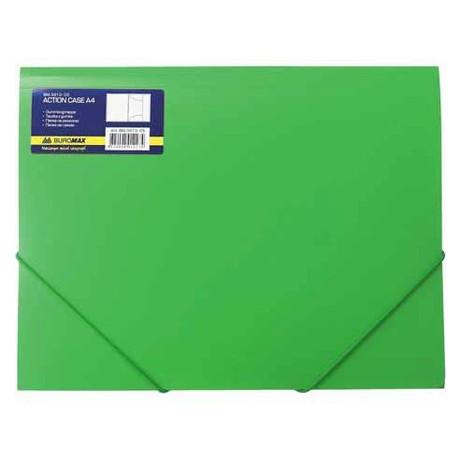 Папка на резинках Buromax А4 Job, зеленый BM.3913-04