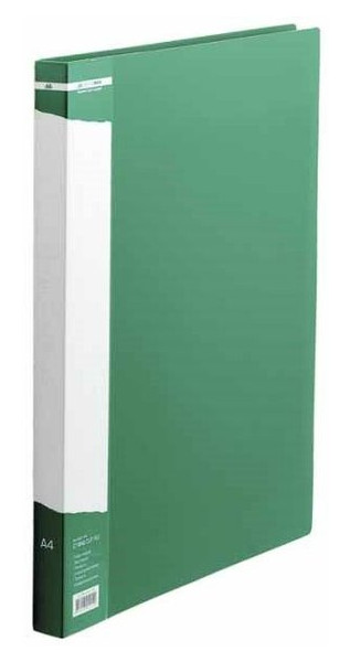 Папка со скоросшивателем Buromax A4 Job, зеленый BM.3407-04