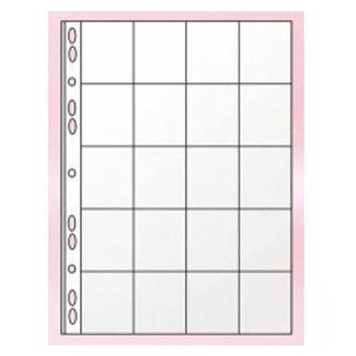 Файл Panta Plast для 20 монет А4 11 отв PVC 06-1510-0 (0312-0005-00)