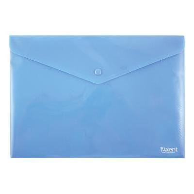 Папка - конверт Axent А4 textured plastic blue (1412-22-А)