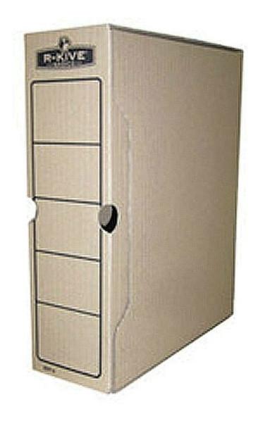 Бокс для архивации документов Fellowes R-Kive Basics 100мм, коричневый f.91601