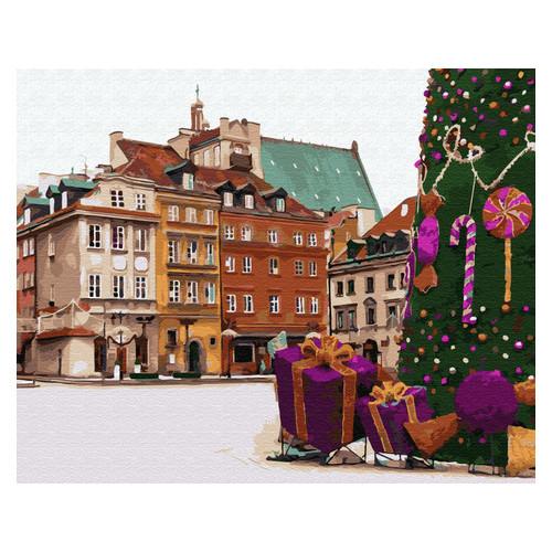 Картина по номерам Brushme Новогодняя Варшава (GX33176)