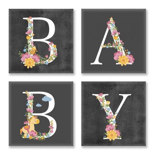 Набор для росписи по номерам Baby Лофт Идейка CH109