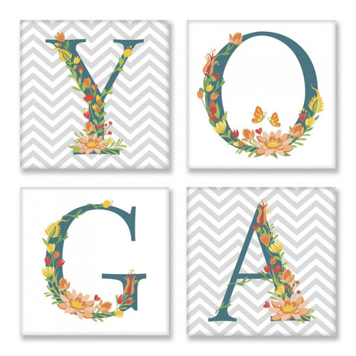 Набор для росписи по номерам Yoga Сканд Идейка CH117